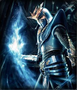 Dark  Wizard. Основной персонаж MU Online