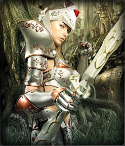 Fairy Elf.  Основной персонаж MU Online